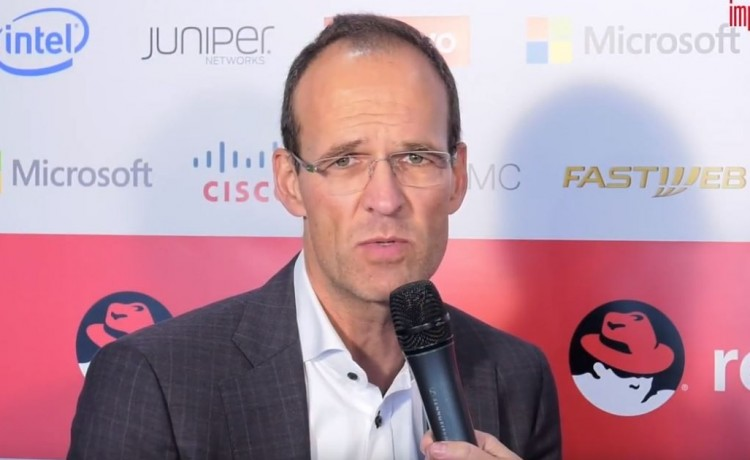 Werner Knoblich, Senior Vice President and General Manager Emea, Red Hat