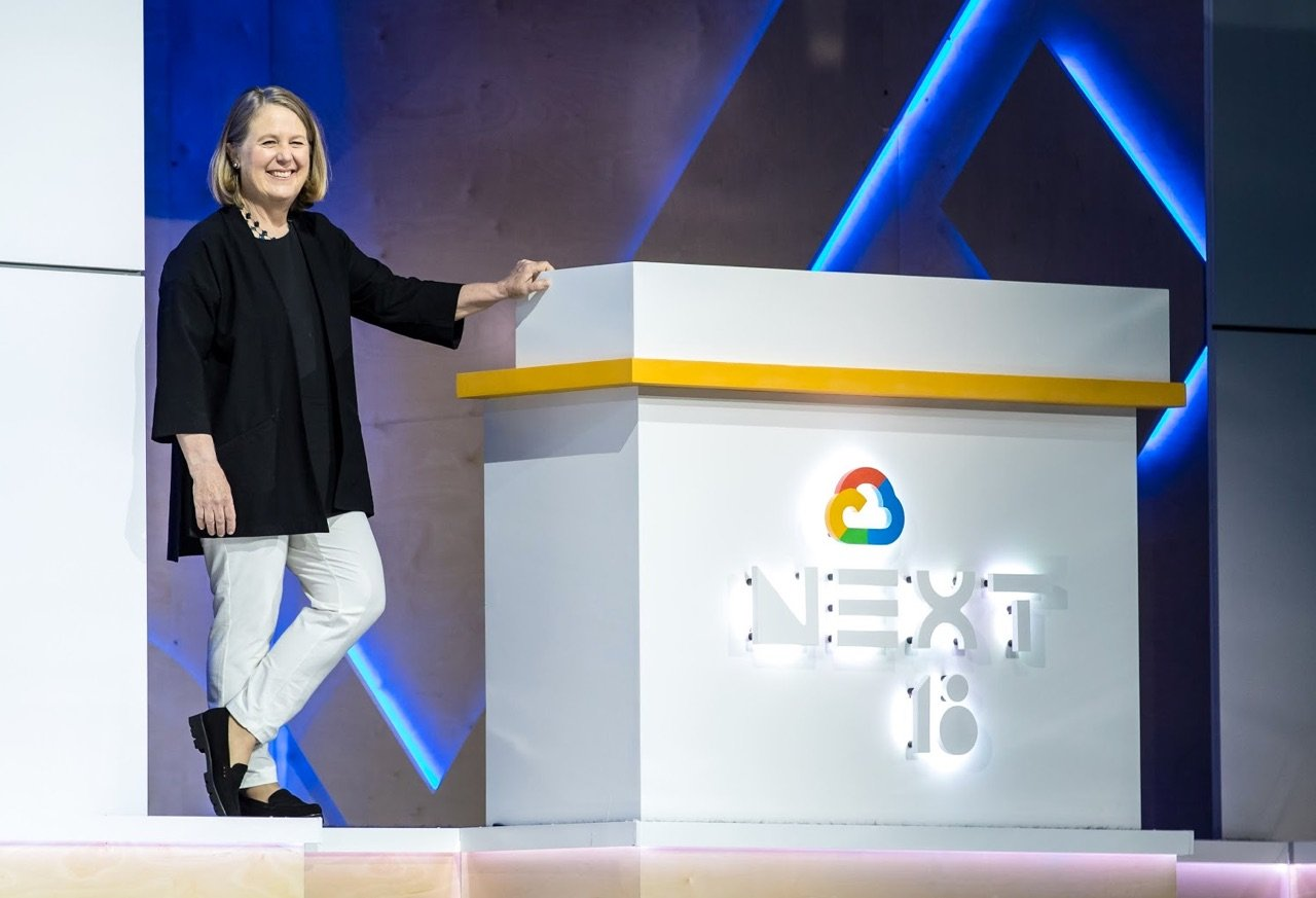 diane greene ceo google cloud