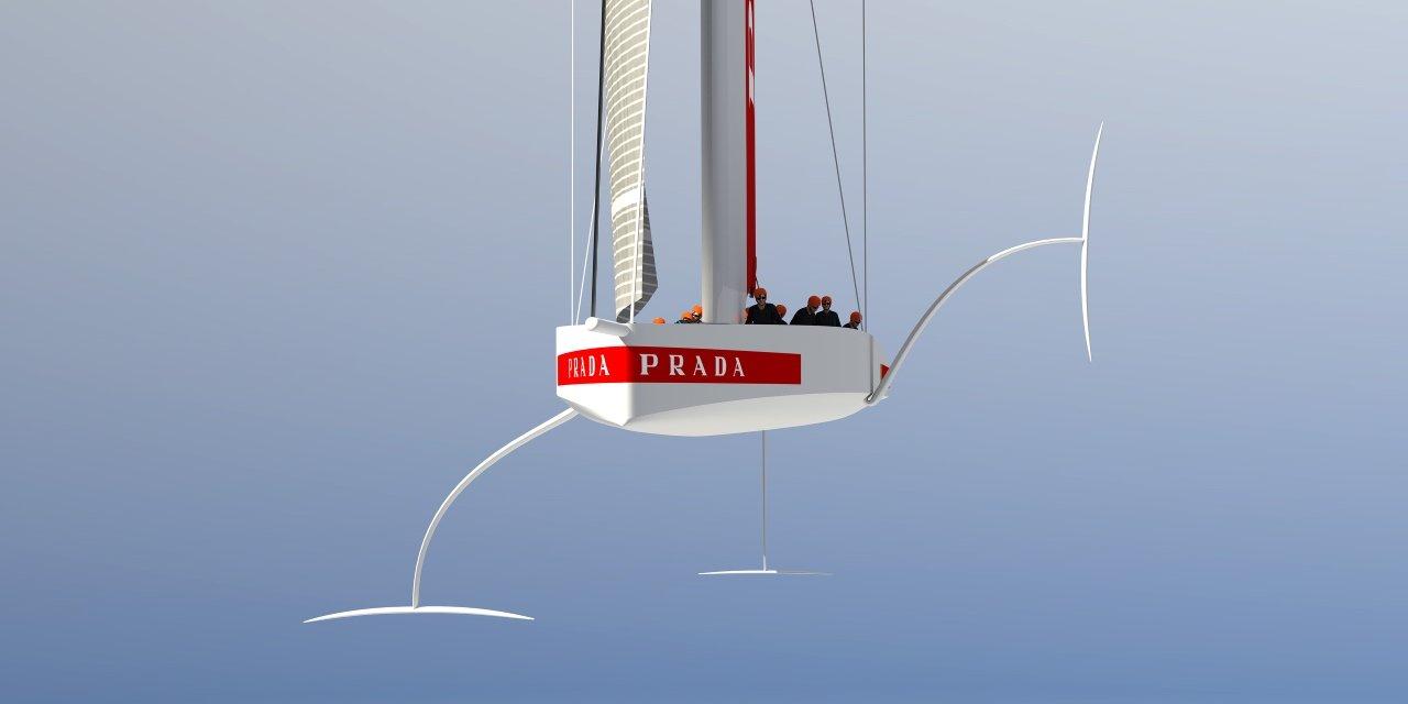 ac75 front on luna rossa