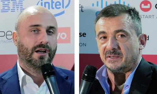 Sandro Borioni, Group Chief Technology Officer e Alexandre Francesco Bove, Head of IT Digital di Nexi