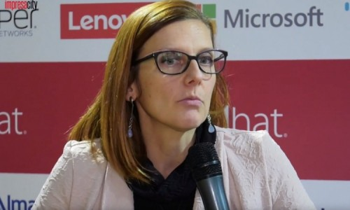 Roberta Marchini, Technical Sales Manager di Lenovo Data Center Group