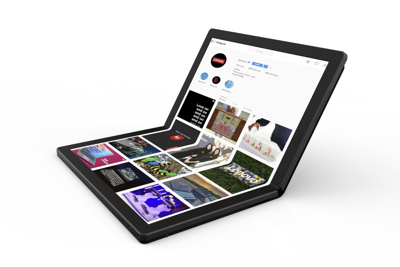 lenovo worlds first foldable pc 2