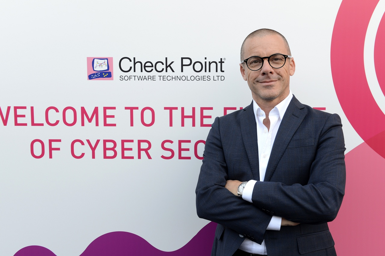 check point david gubiani regional director security engineering southern europe