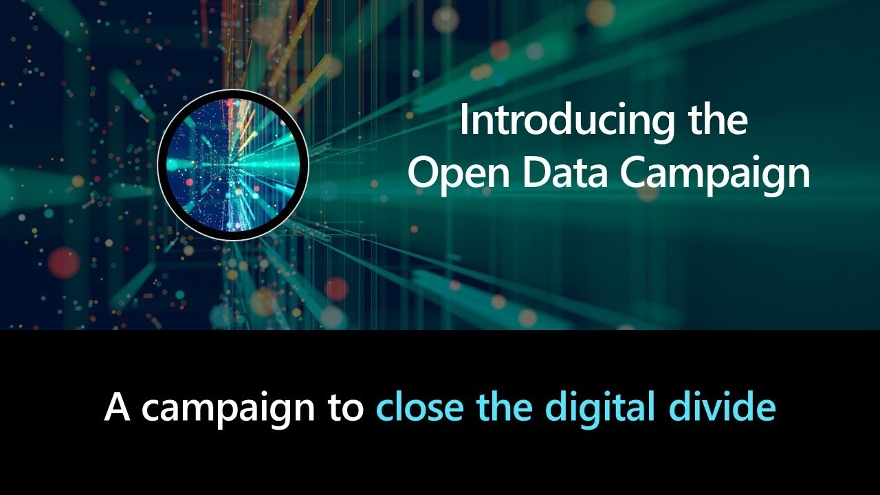 open data campaign