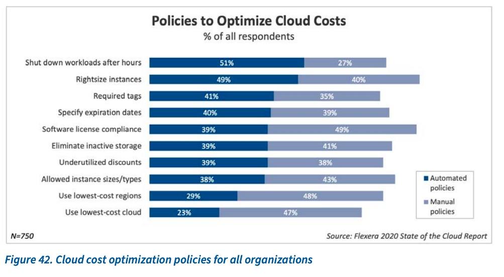 gestione costo cloud flexera
