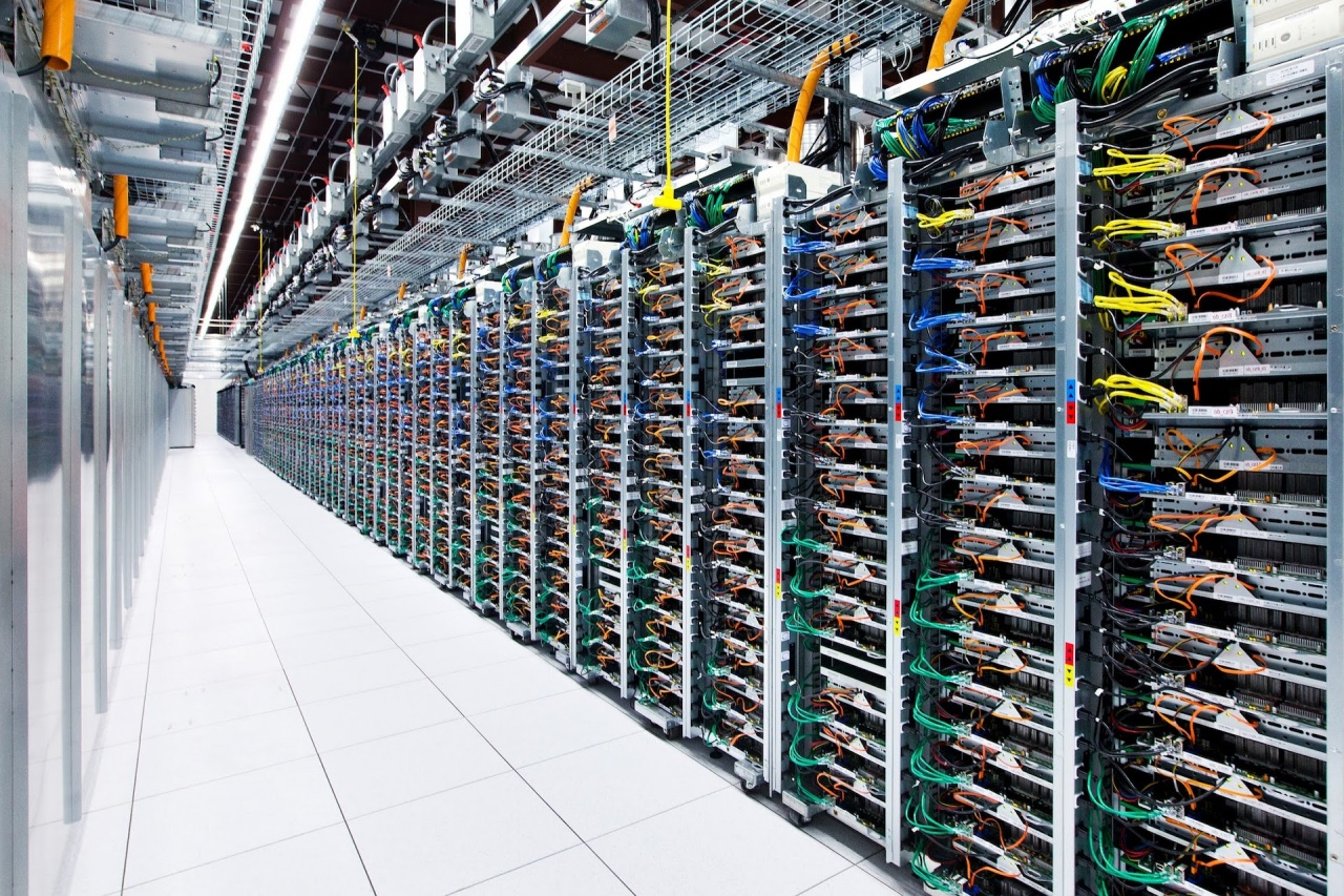 google cloud datacenter mini