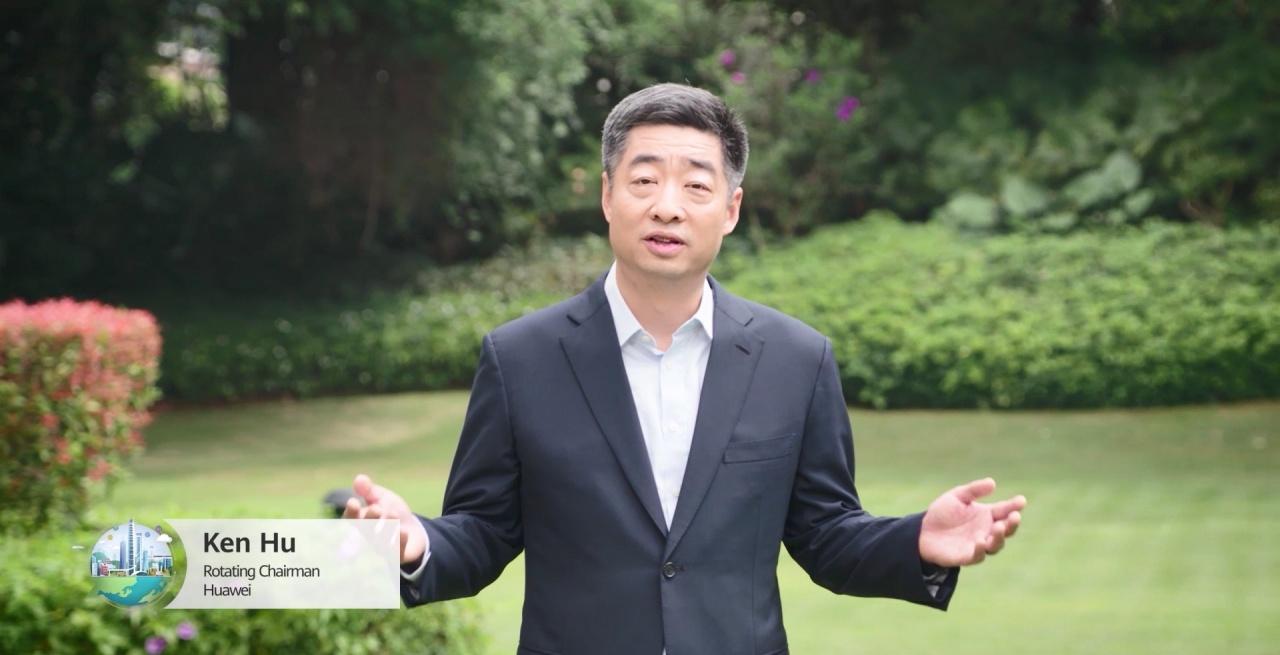 ken hu, rotating chairman di huawei