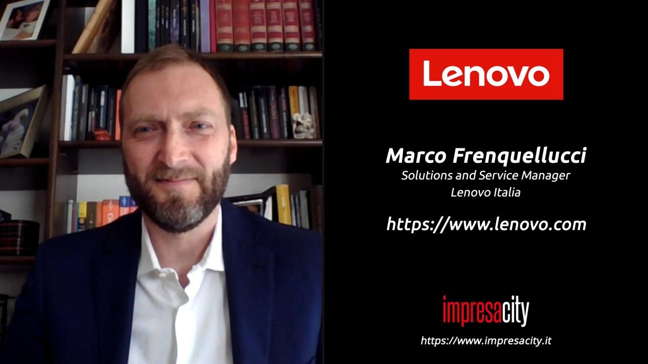 Lenovo, il DaaS per il lavoro ibrido