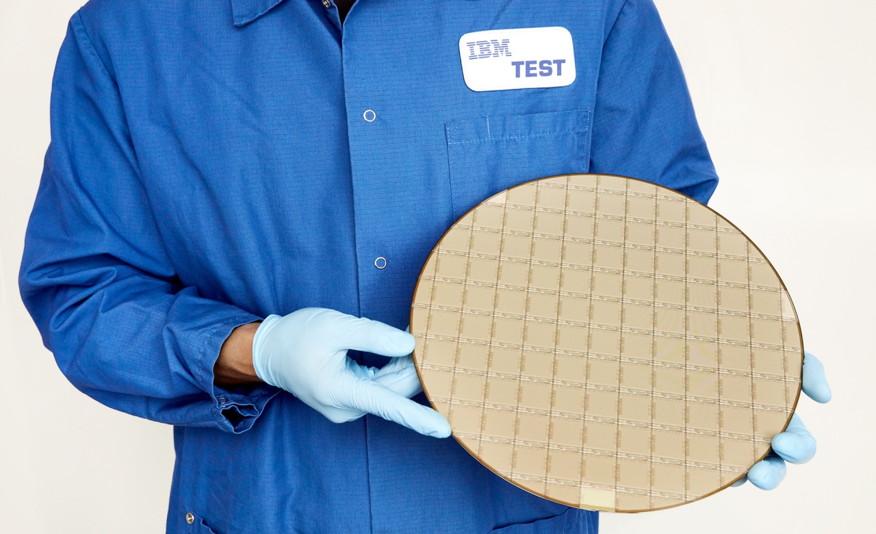 ibm telum processor wafer resized