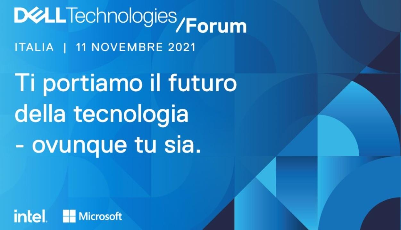dell tech forum italia 2021